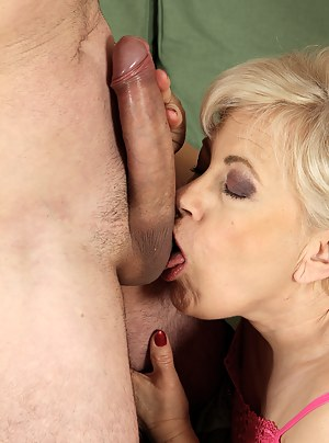 MILF Ball Licking Porn Pictures