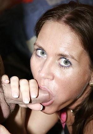 MILF Blowjob Porn Pictures